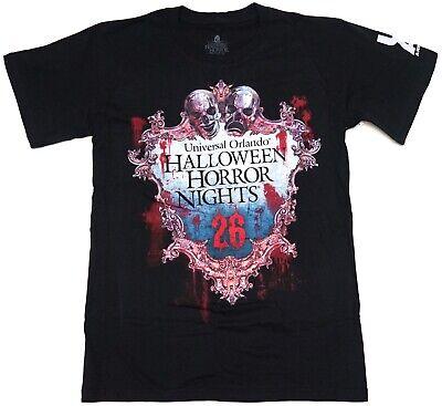 New Universal 2016 Halloween Horror Nights HHN26 UOAP Passholder T-Shirt S-XL