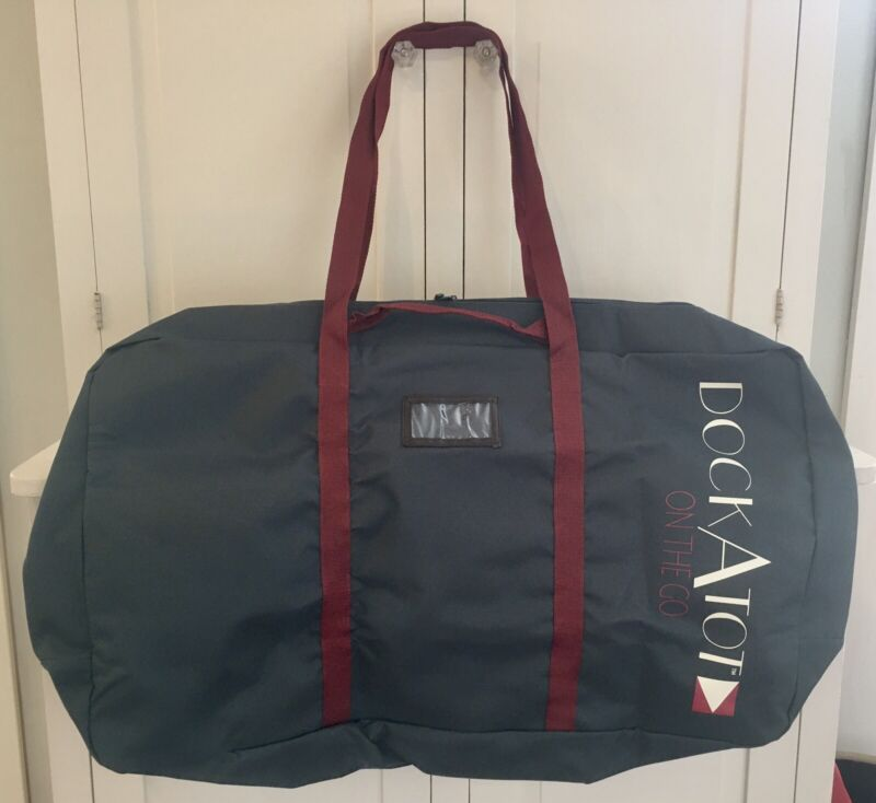 DOCKATOT On The Go Grand Transport Bag In Midnight Teal Travel Tote