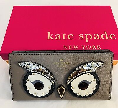 Kate Spade Women Purse Owl Stacy Star Bright Cityscape 992