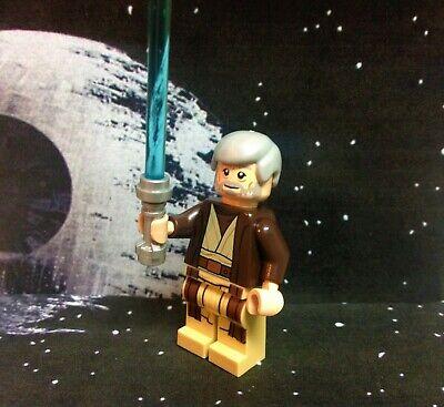 Lego Star Wars Obi-Wan Kenobi (Dark Brown Hooded Coat) sw0552 Minifigure
