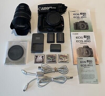 Canon Rebel XTi Package Deal - Upgraded Lens, All Needed Accessories & MORE