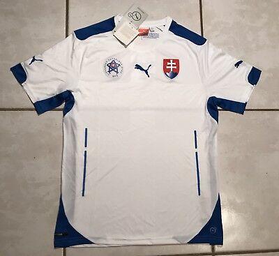 NWT Slovakia National Team 2014 Soccer Jersey Men's Medium image