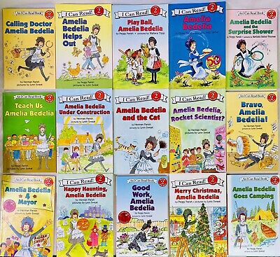 Lot 15 Amelia Bedelia Books I Can Read! Level 2 Come Back Teach Us Helps Out