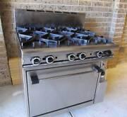 commercial 6 burner oven ,excellent condition Keilor Brimbank Area Preview