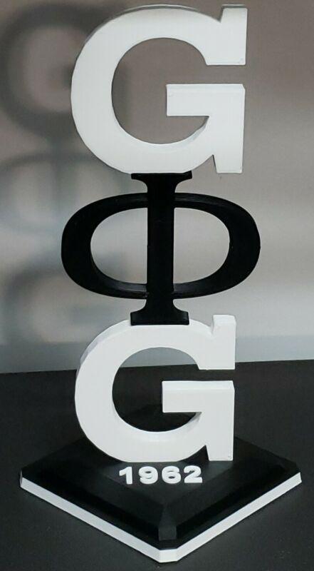 Groove Phi Groove Fraternity Desktop Tower Display