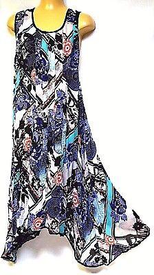 TS dress TAKING SHAPE plus sz XS / 14 Summertime Blues Dress light NWT! rrp$130