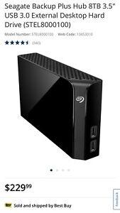 8TB desktop drive