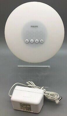 Philips Wake-Up Light Alarm Clock with Sunrise Simulation, White HF3500 - C31