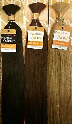Sensationnel Premium Now 100% Human Hair for Braiding HH NEW YAKI - Premium Now Hair