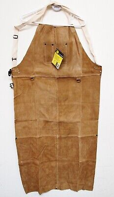 1 Each Revco 48a Black Stallion Leather Welding Bib Apron