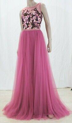 Abito da Cerimonia Donna Pronovias Taul Evening Dress Taglia 50 IT