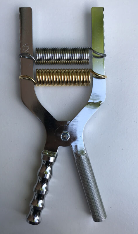 Adjustable Hand Gripper Baraban CHROME 50/500lbs resistance W ANATOMIC Grip