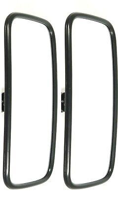 2x Außenspiegel Rückspiegel für LKW Bagger Traktor Baumaschinen 375x185mm UNIV