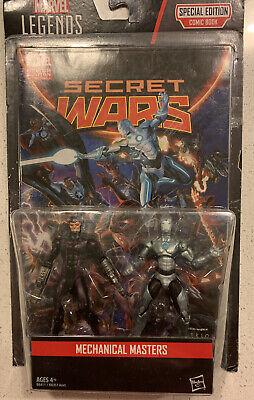 "Marvel Legends 3.75"" Machine Man & Superior Iron Man Comic Pack Action Figures"
