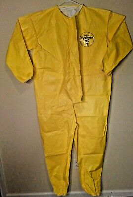 Dupont Tychem 2000 Qc Coverall With Elastic Wrists Ankles Zip Front 3xl 1 Suit