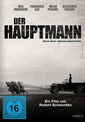 Der Hauptmann - (Max Hubacher) # DVD-NEU