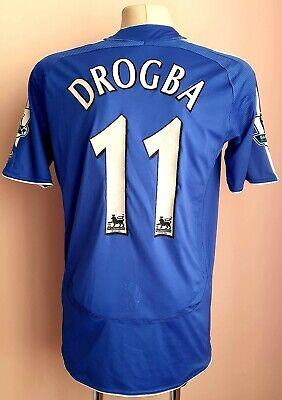 Chelsea 2006 - 2008 Home football Adidas shirt #11 DROGBA  image