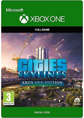 CITIES SKYLINES XBOX ONE EDITION FULL GAME KEY