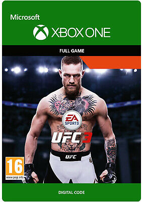 UFC 3 XBOX ONE FULL GAME KEY