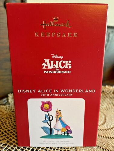 Hallmark Keepsake Ornament 2021 Disney Alice in Wonderland 70th Anniversary  NIB