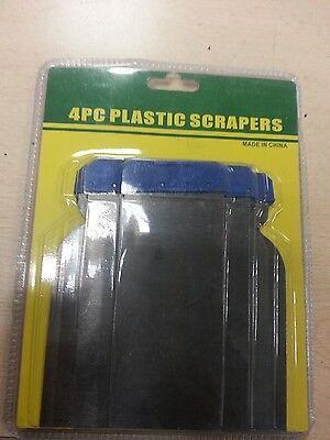 (Mannesmann Flexible Metal Filler Scraper Set 4pcs. Car Body Filler VPA GS TUV )