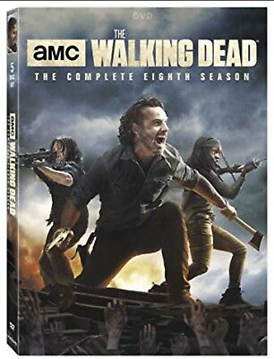 The Walking Dead  Season 8 Brand New DVD 5 Disc Set New &  Sealed