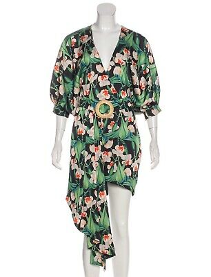 Patbo Floral Print Dress Sz S 4 MSRP $695 NWT