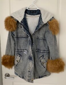 59612810a43 Fluffy Winter Jacket One Size