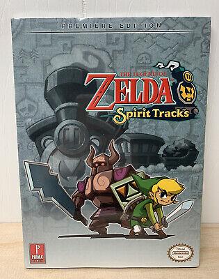 The Legend of Zelda Spirit Tracks Premiere Edition Prima Game Guide Nintendo NEW