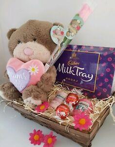 d42f58c14e9fe Mothers day Gift Basket Hamper yankee Birthday gift for mum lindt ferrero