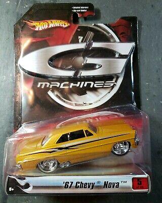 Hot Wheels G-Machines 1:50 GOLD '67 Chevy Nova NEW NIP