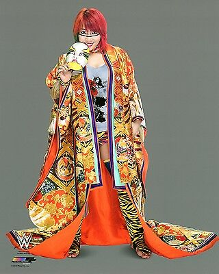 "WWE PHOTO ASUKA OFFICIAL STUDIO WRESTLING 8x10"" PROMO"