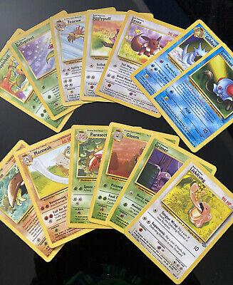 Original Vintage Pokemon Card LOT