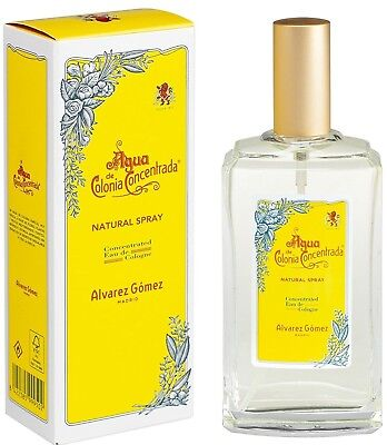 Alvarez Gomez Agua de Colonia Rellenable en Spray 150 ml Unisex Concentrada