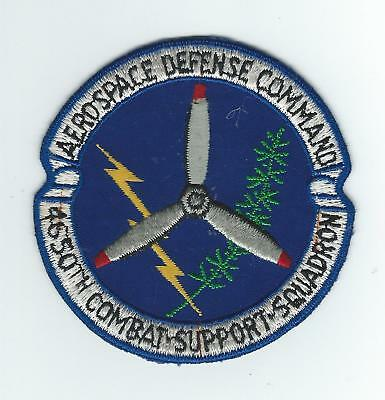 70S Aerospace Defense Command 4650Th Combat Support Squadron  Patch