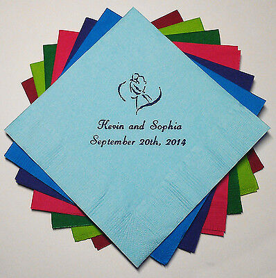 400 PERSONALIZED COCKTAIL NAPKINS - Wedding, Baby Shower, Birthday](Baby Shower Cocktails)