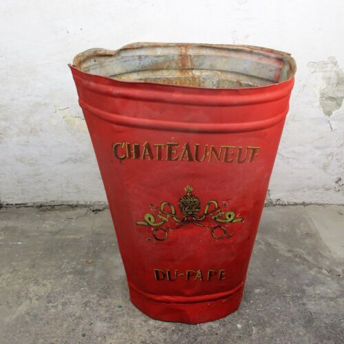 Red Antique French Châteauneuf du Pape Grape Hod France Vineyard HTF  Collector