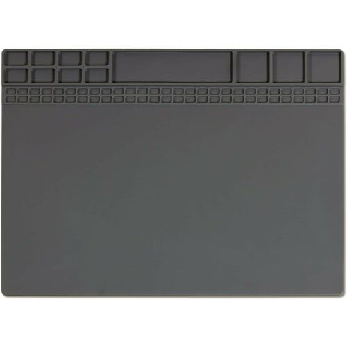 Soldering Mat Magnetic Silicone Heat Resistant 932°F Electronic Repair Pad Large