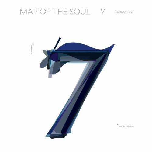 BTS MAP OF THE SOUL 7 VERSION 2 CD BRAND NEW IN PACKAGE