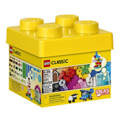 LEGO Classic Small Creative Bricks Kids 221 Piece Building Box Set | 10692