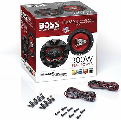 Autolautsprecher 3-Wege-Paar Audio Stereo Koaxial 6.5 Boss 6 5 3 4 300 Watt Ch6530