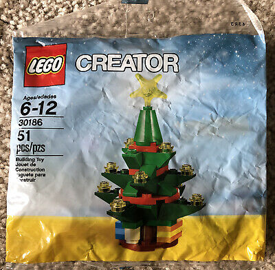Lego Creator 30186 Christmas Tree - New Sealed Polybag - Fun Stocking Stuffer