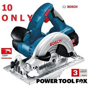 10 only B A R E  T O O L Bosch PRO GKS 18V CIRCULAR SAW 0615990G9M 3165140810388