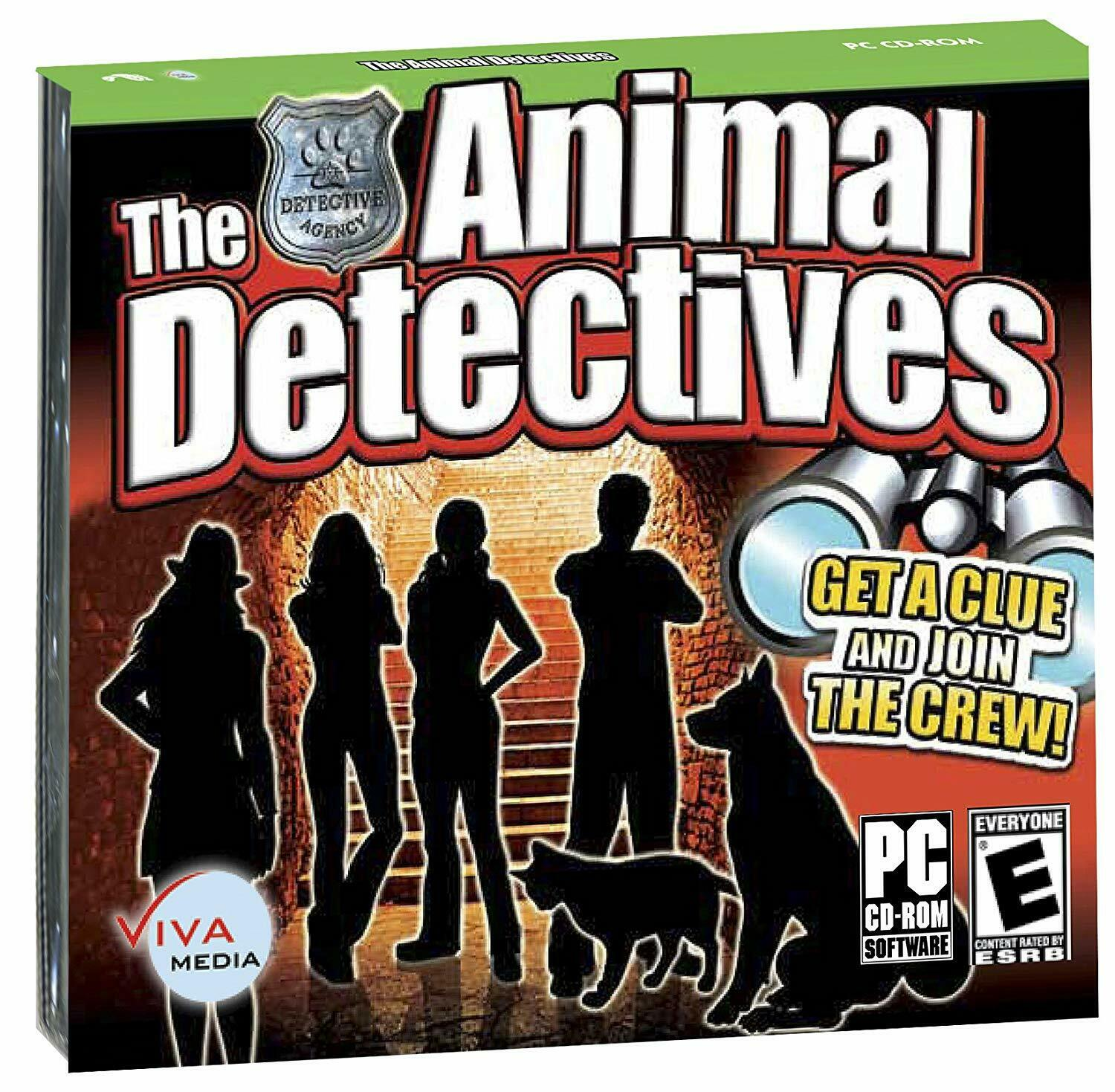 Computer Games - The Animal Detectives PC Games Windows 10 8 7 XP Computer mystery adventure
