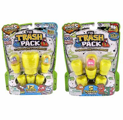 Trash Pack Series 5 Combo Pack: 17 Trashies 10 Toilets & 1 Giant Toilet Included ()