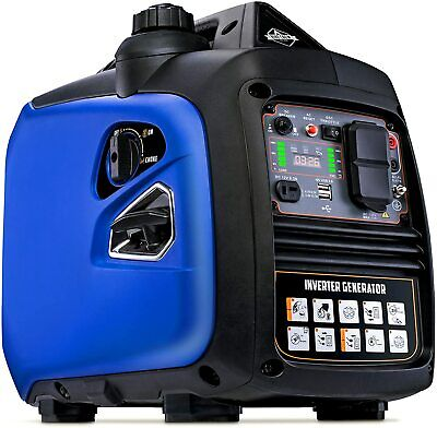 Hike Crew 2250-w Super Quiet Portable Gas Powered Inverter Generator With Cover