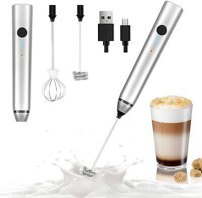 Espumador de Leche Eléctrico, USB recargable batidor eléctrico, vaporizador