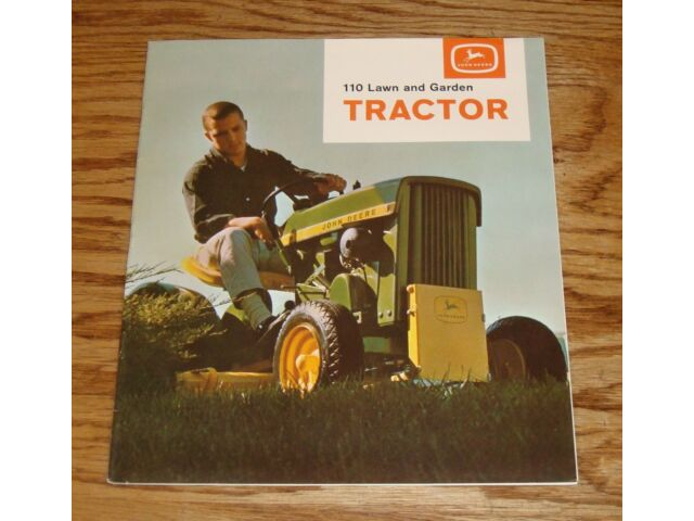 Original 1964 John Deere 110 Lawn and Garden Tract