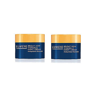 2 Pk - Lumene Bright Now Vitamin C Facial Night Cream 0.5 oz ea ()