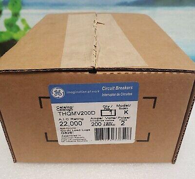 Thqmv200d Ge 2pole 200amp 240v Circuit Breaker New In Box